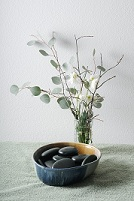 Spa atmosphere - rocks with vase